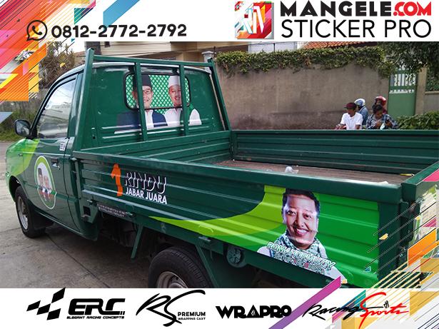 branding stiker mobil | kijang pick up branding caleg | mangele stiker 081227722792