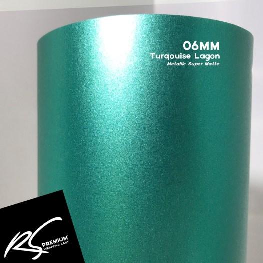 06MM Turqouise Lagon Metallic Super Matte