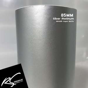 85MM Silver Platinum Metallic Super Matte