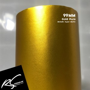 99MM Gold Pure Metallic Super Matte