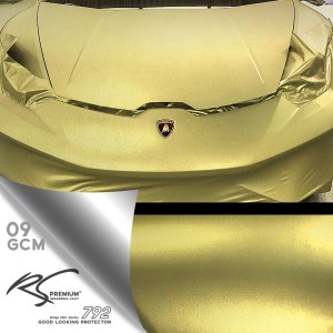 GCM-09 Soft Gold chrome metallic matte