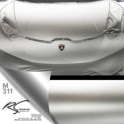 M311-Platinum-Silver-chrome-metallic-matte