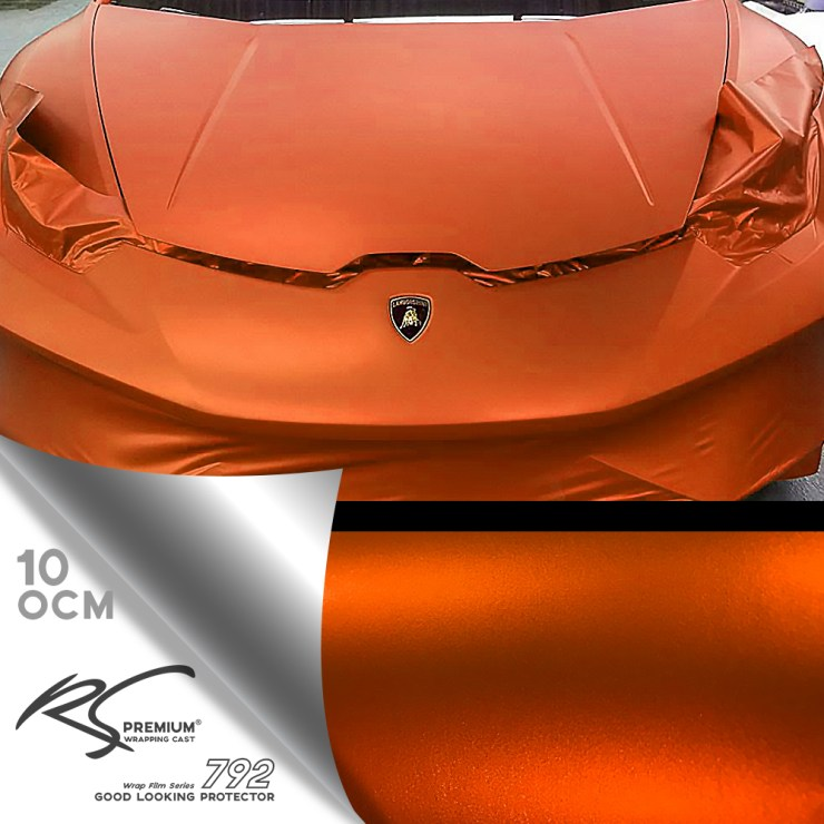 OCM-10 Orange chrome metallic matte