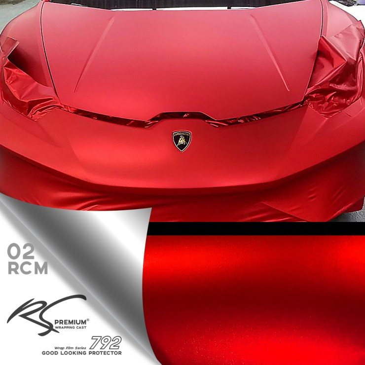 RCM-02 Red chrome metallic matte