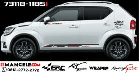 Mangele Cutting Sticker Murah Mobil Ignis