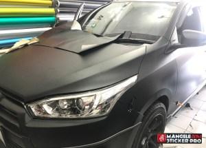 RS Premium wrapping hitam doff stiker mobil keren