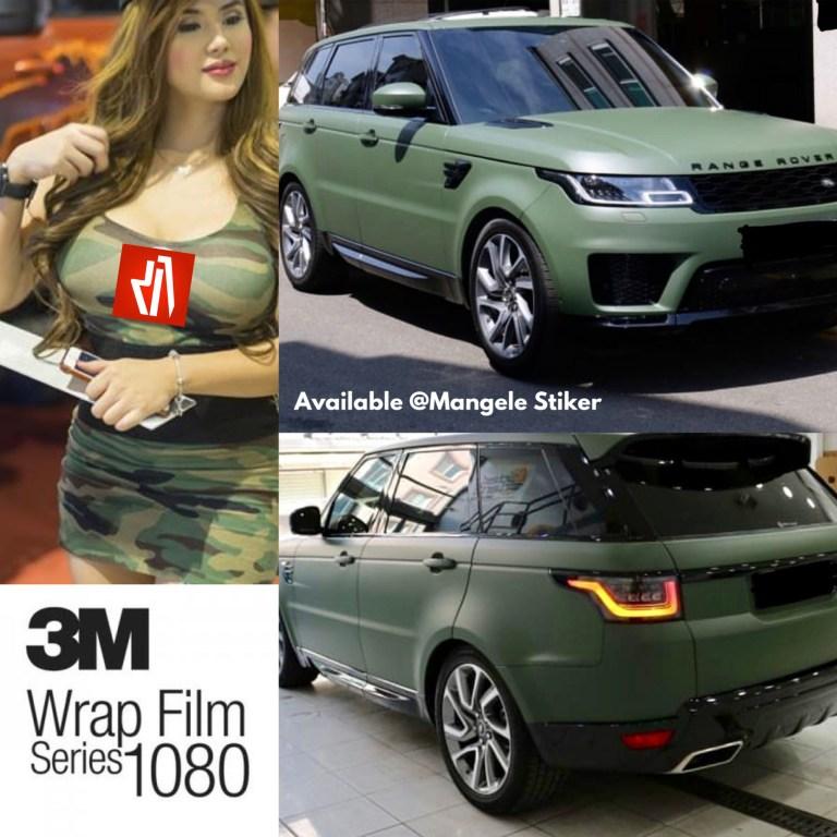 3M 1080 Wrap Film kini tersedia di Mangele Stiker Mobil Premium Bandung 0812-2772-2792