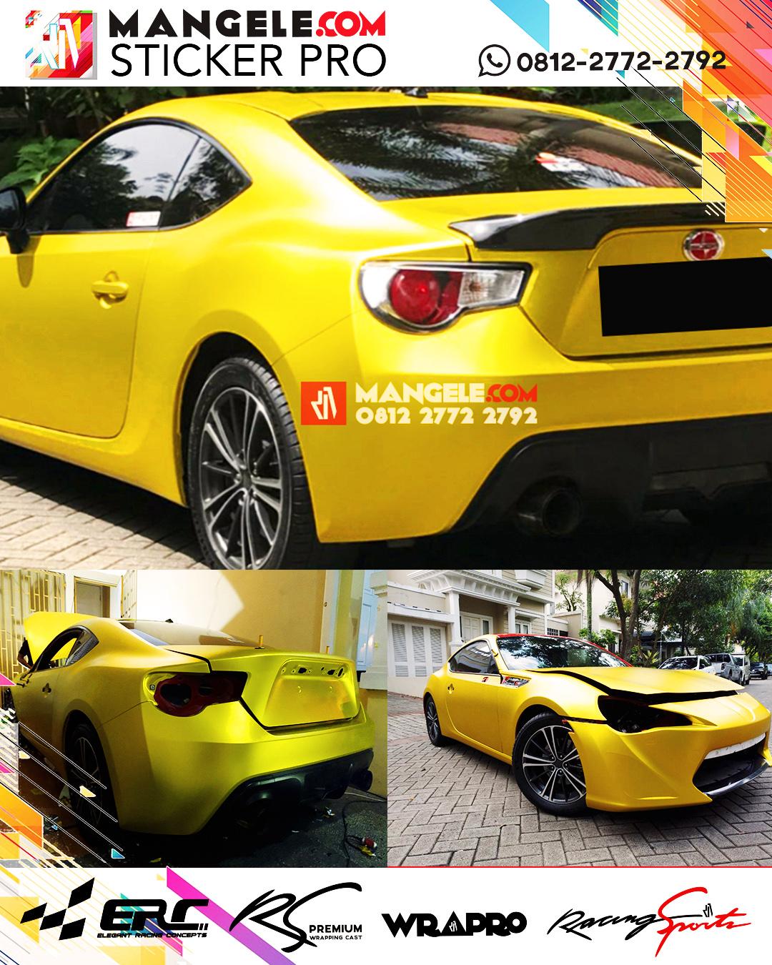 RS Premium Wrapping Stiker Mobil Anti Gores Mangele Bandung
