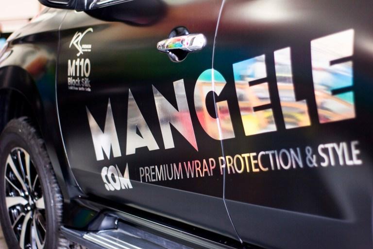 Harga Perkenalan RS Premium Series Mangele Sticker Mobil Bandung