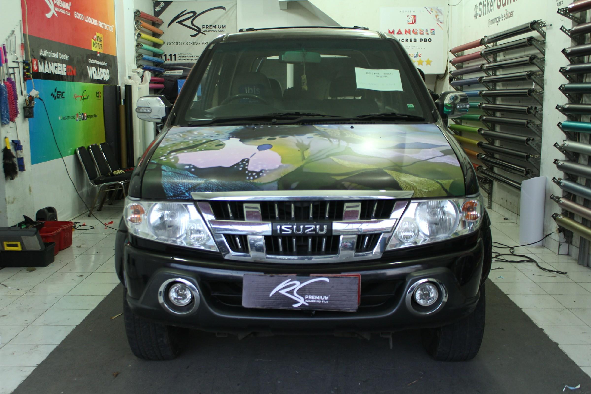 branding stiker mobil | panther indag jabar| mangele stiker 081227722792