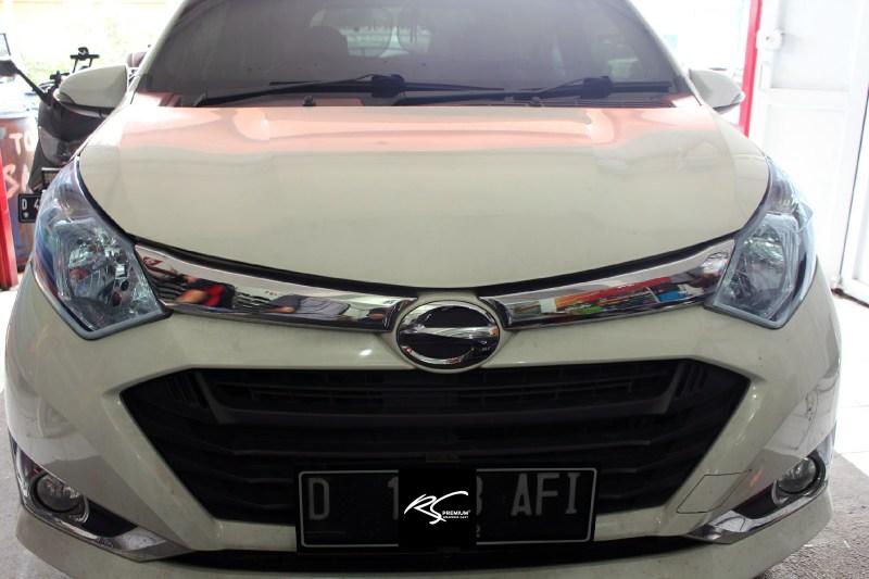 Stiker Mobil Lampu Keren Smoke Biru Hybrid Mangele Sticker Bandung