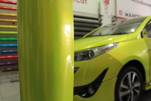 Stiker Mobil Viper Lime Metallic