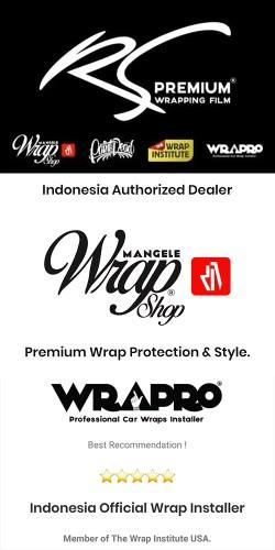 Premium Mangele Stiker Mobil Wrapping bandung