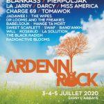 Affiche Ardenn'rock 2020