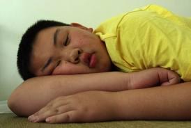 chinois qui dort