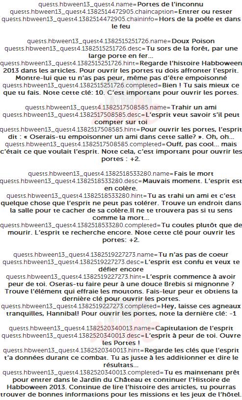 code fr