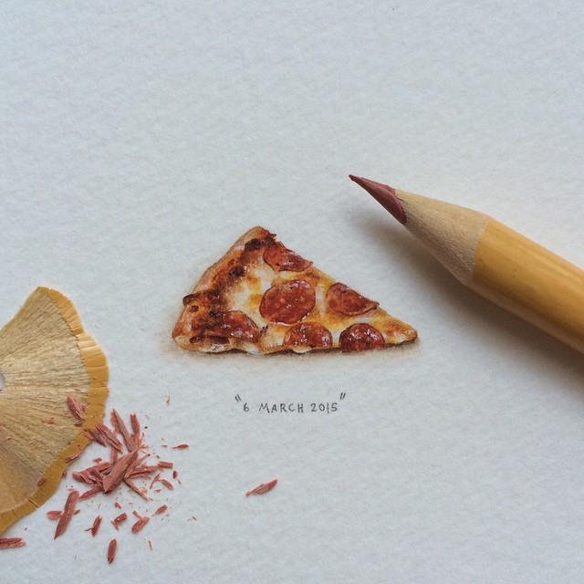 Mini dessin Pizza