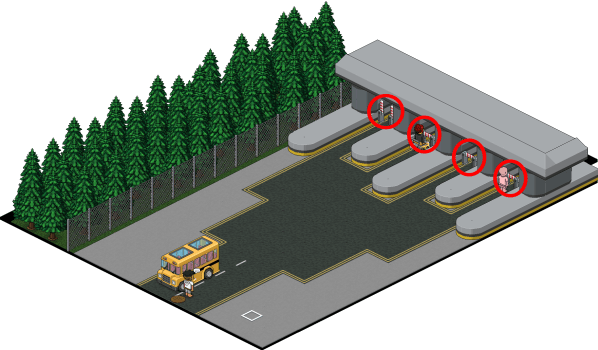 Habbo Motor - Toll Road