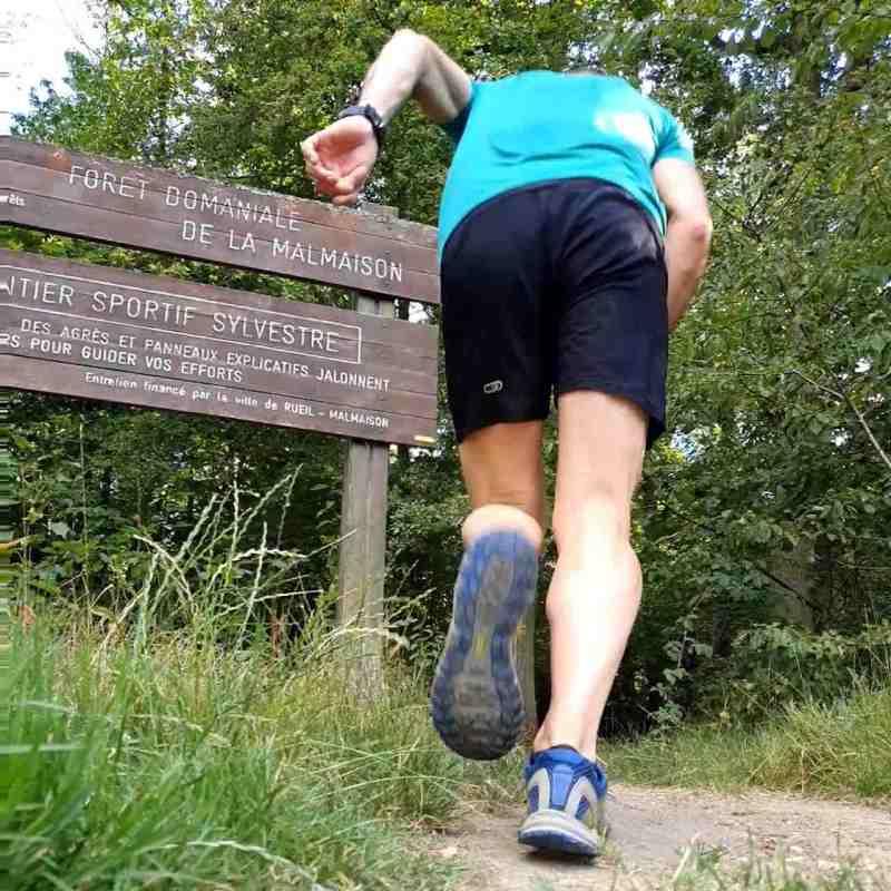 Footing sur terrain spécifique écotrail :)