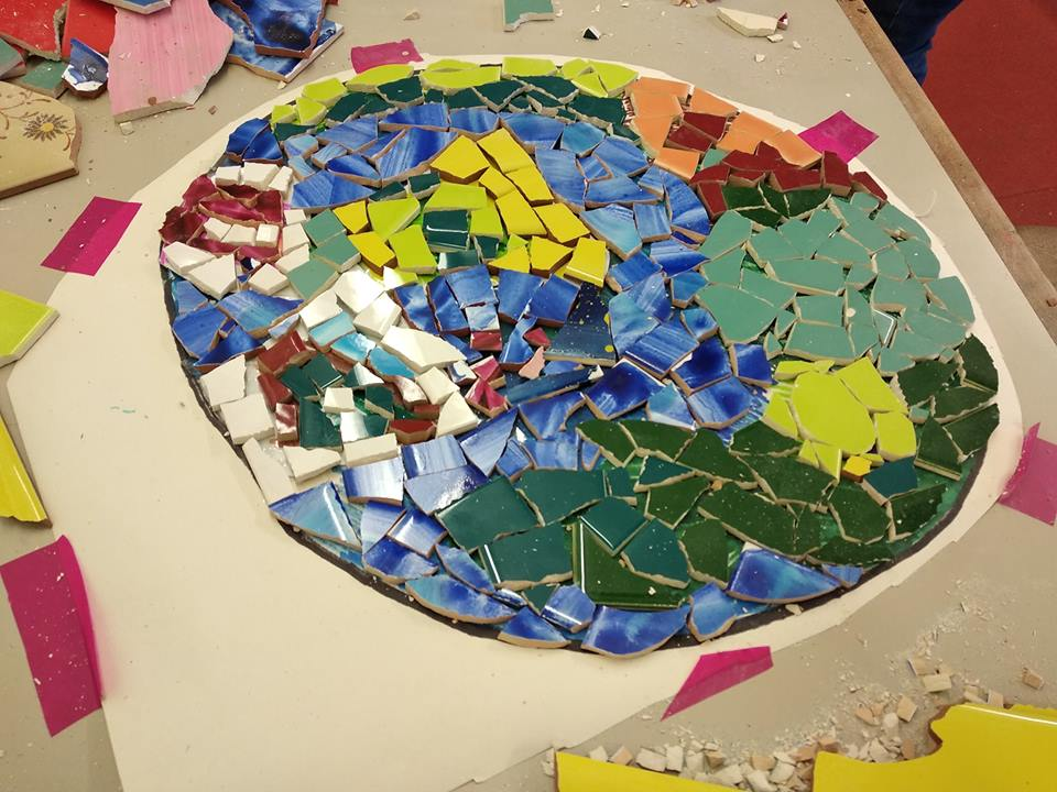Mosaic_project_St Barnabas Primary School, Bristol (UK)