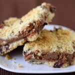 Chocolate Crumb Cheesecake Bars & Giveaway Winner!