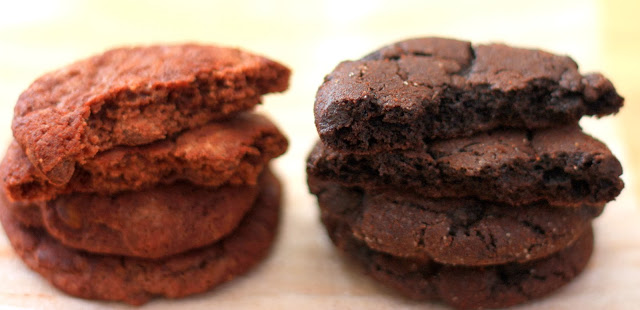 Mexican Hot-Chocolate Cookies: A Comparison of Two Recipes