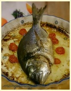 Zuppa di cipolle e Orata al forno
