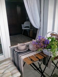 B&B Sognoviaggiando a Ravenna il tè sulla loggia