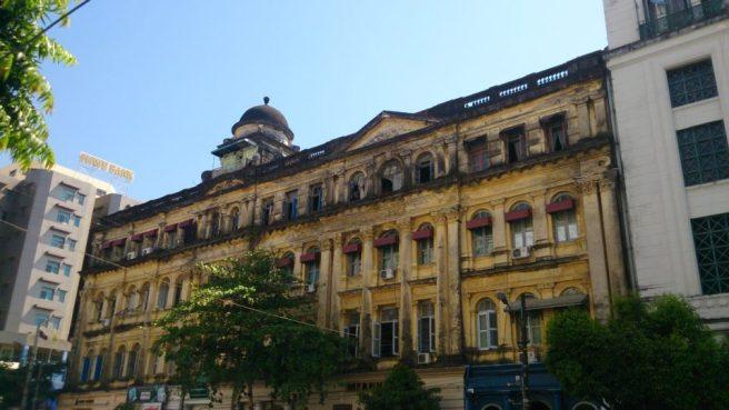 Palazzo coloniale Yangon - Myanmar