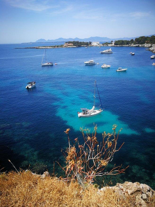 Baie des Milliardaires d'Antibes - Côte d'Azur Cap d'Antibe