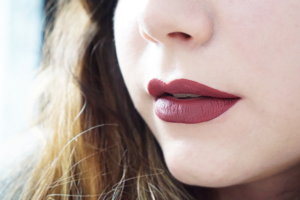 colourpop ultra matte swatch tulle