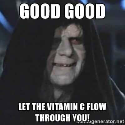 vitamin c effects on skin
