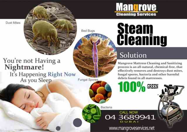 Mattress cleaning in Dubai - we clean and sanitise mattresses