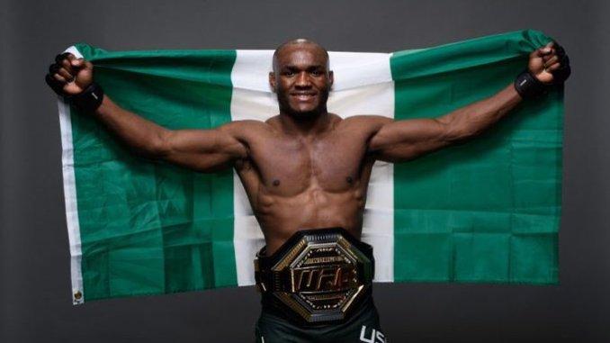 Wasan dambe: Usman ya lashe  kambun UFC karo na uku