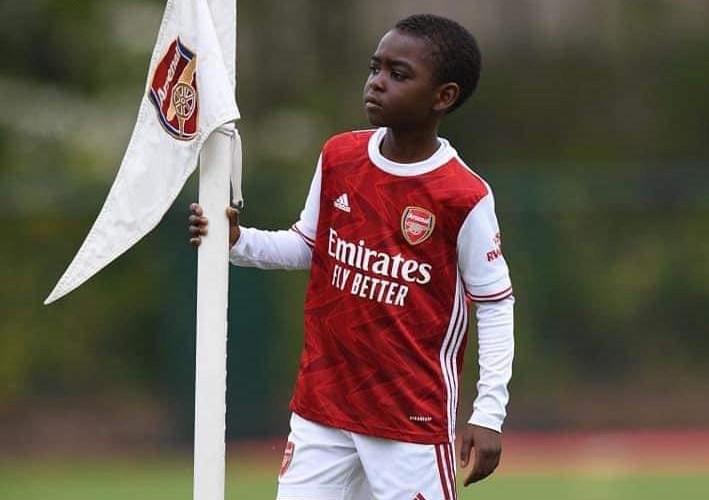 Ɗan shekara 9 daga Nijeriya ya samu kwantiragin murza leda a makarantar Arsenal