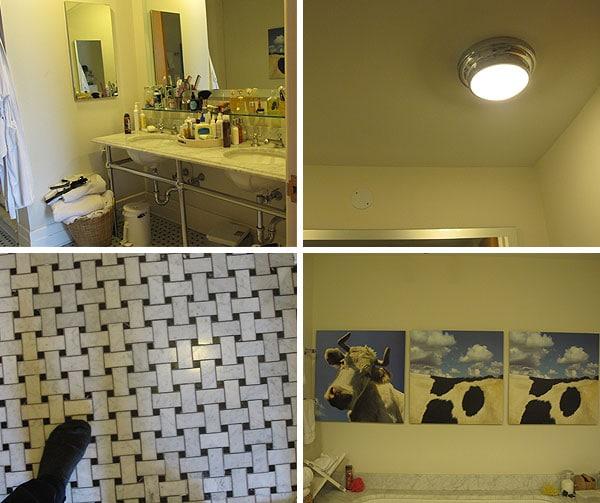 Manhattan Nest   Ana Gasteyer's Bathroom Makeover (Before)