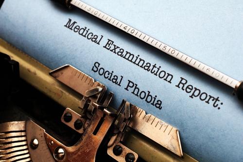 social phobia social anxiety