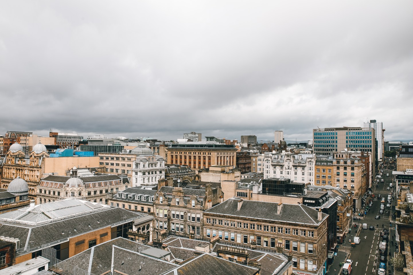 Glasgow from above - the view from The Lighthouse
