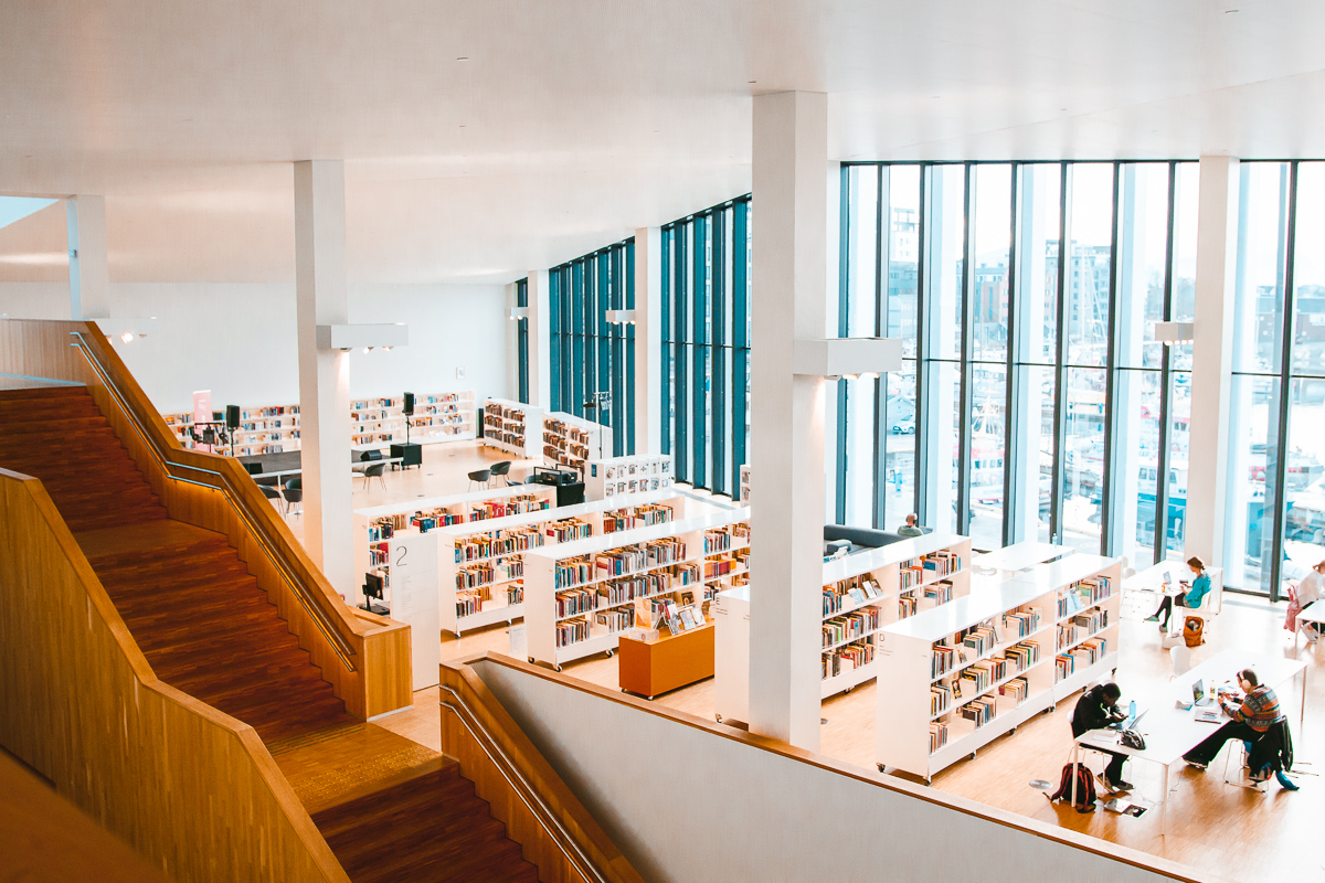 Things to do in Bodø: Visit Stormen library