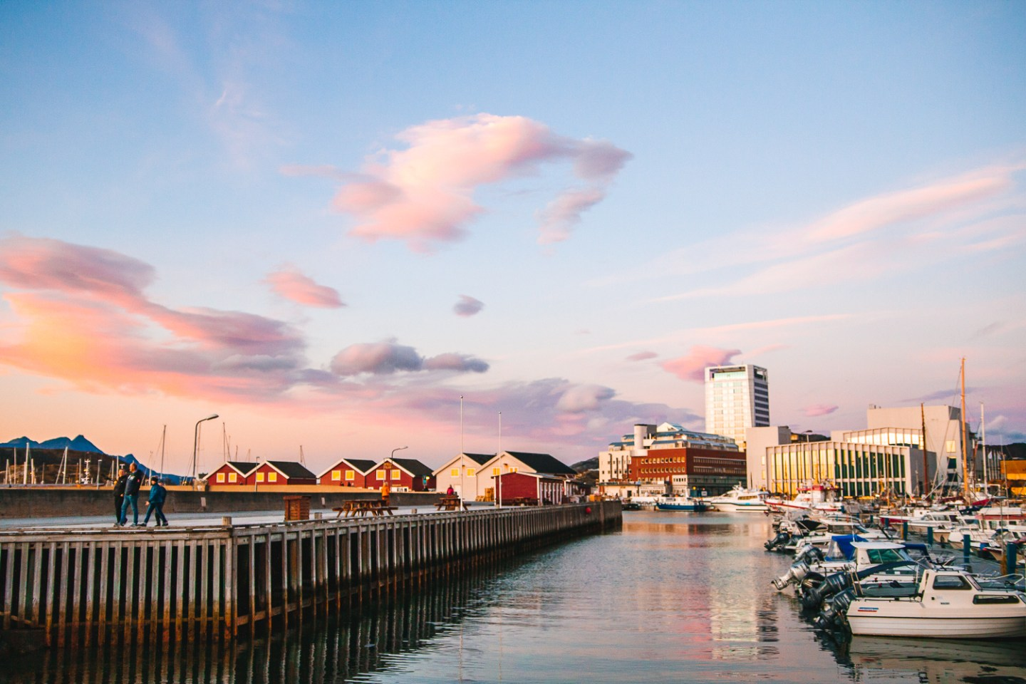 Things to do in bodø: stroll along the harbor