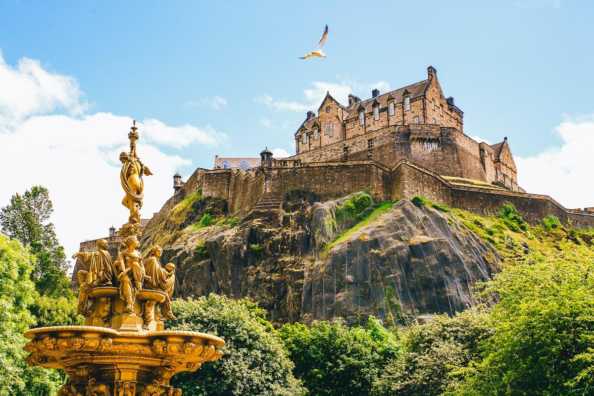 Scotland Road Trip - Edinburgh Castle