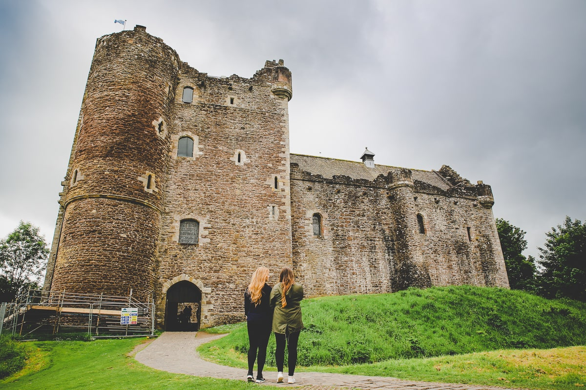 Scotland Road Trip - Doune Castle, known from Outlander and Game of Thrones