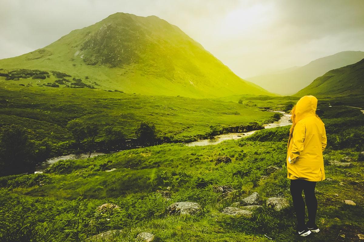 Scotland Road Trip - Stop by Glencoe