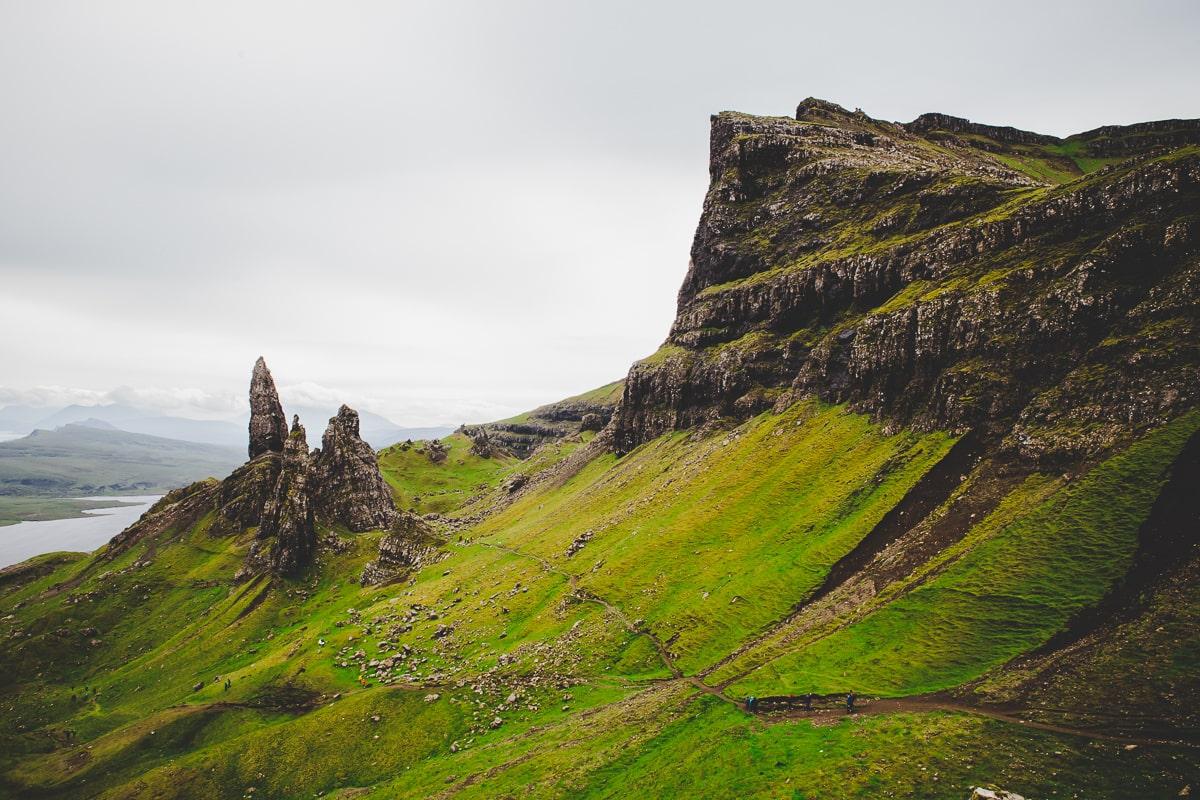 Scotland road trip - Ole man of storr hike