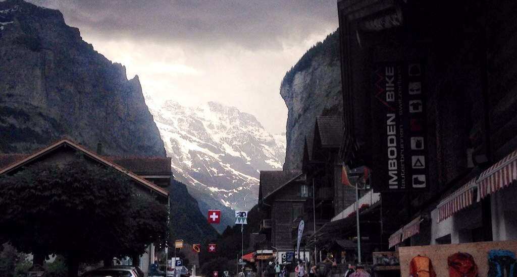 Lauterbrunnen, Switzerland is an adorable little Swiss town. It's about 30 minutes into the Alps from Interlaken and is a perfect place to escape crowds.