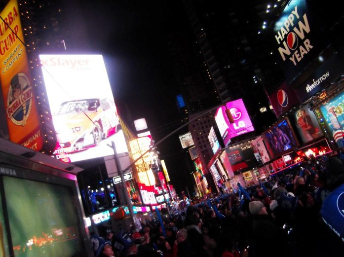So you want to go to Times Square for New Year's Eve? Here's the secret tip to pulling it off.
