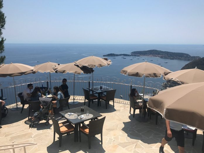 No day trip to Eze is complete without lunch at Le Café du Jardin.
