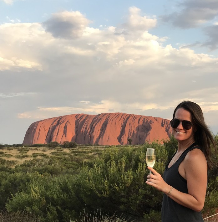 Watching the sunset on Uluru is a must do Australian activity.