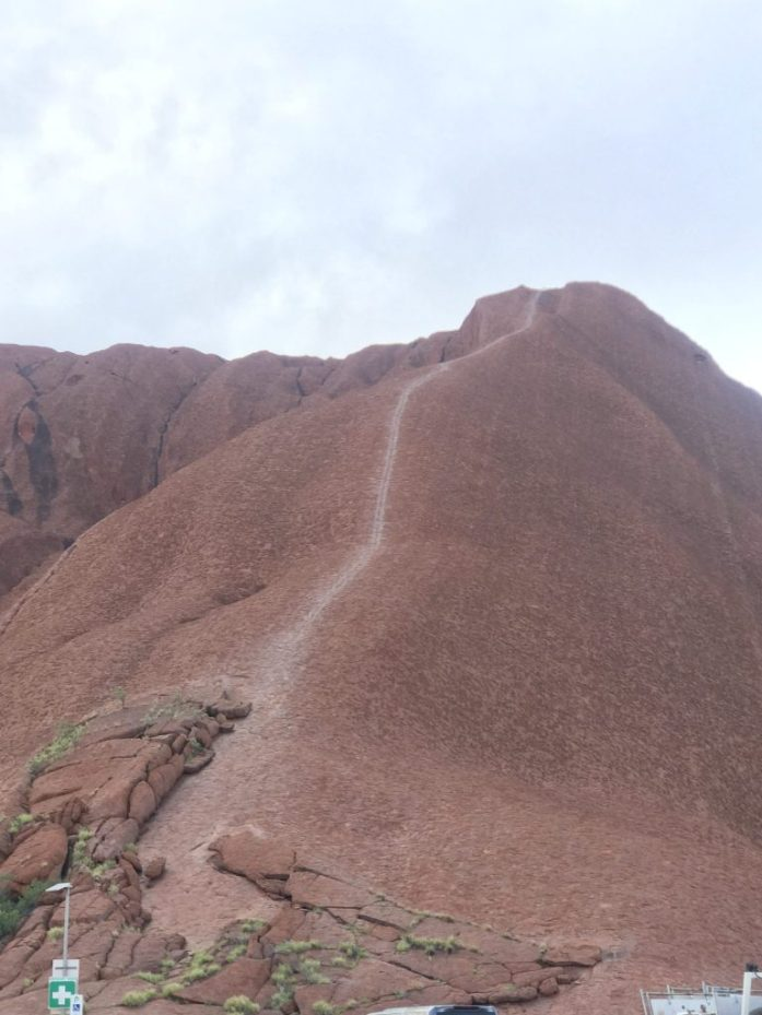 It will soon be illegal to climb Uluru which is considered sacred by indigenous people.