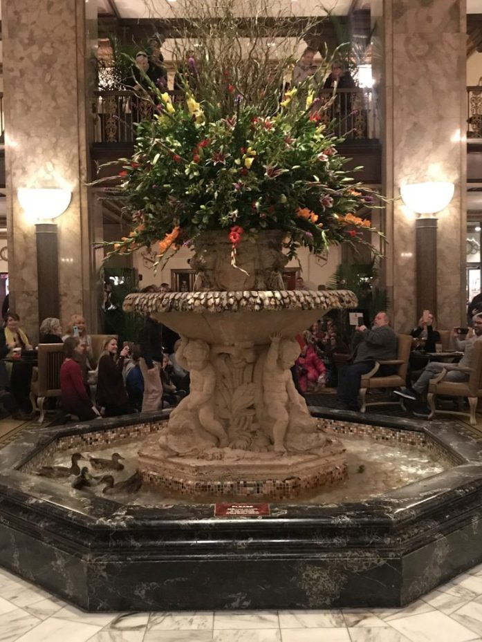 Make sure while visiting Memphis to stop at the Peabody Hotel and see the popular duck walk.